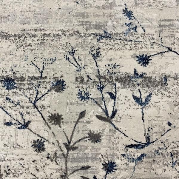 Модерен килим - Алпина 5641 Син - детайл - 1