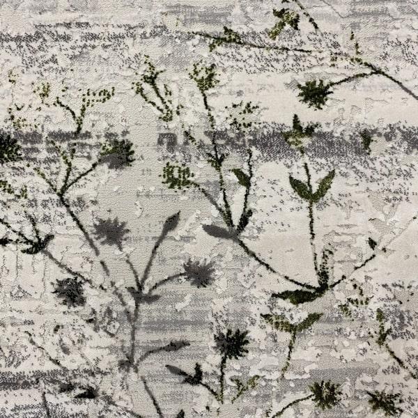 Модерен килим - Алпина 5641 Зелен - детайл - 1
