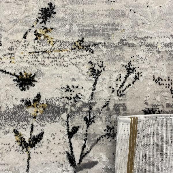 Модерен килим - Алпина 5641 Златен - детайл - 3