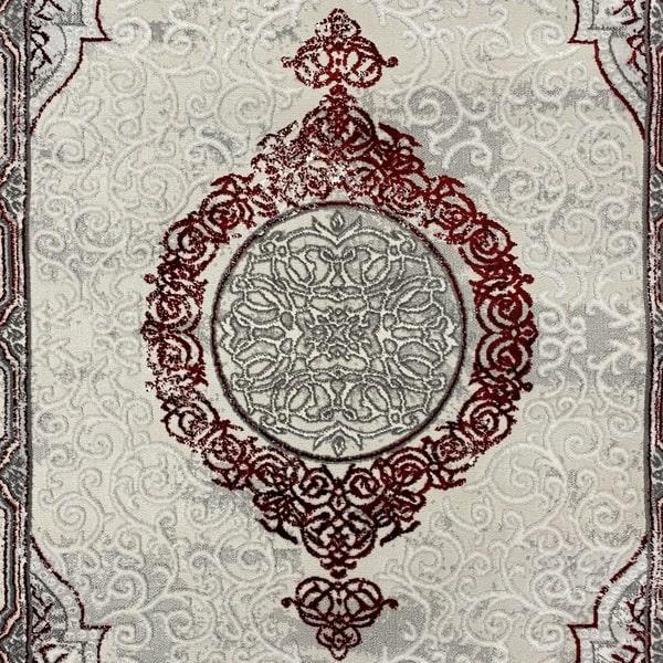Модерен килим - Алпина 5650 Червен - детайл - 1