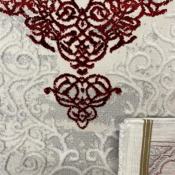 Модерен килим - Алпина 5650 Червен - детайл - 3