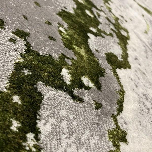 Модерен килим - Алпина 6050 Зелен - детайл - 2