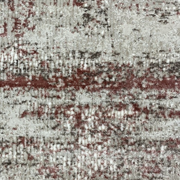 Модерен килим - Атлас 851 Розов/Визон - детайл - 1