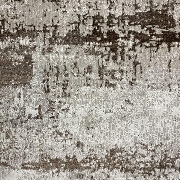 Модерен килим - Атлас 851 Тъмно Кафяв - детайл - 1