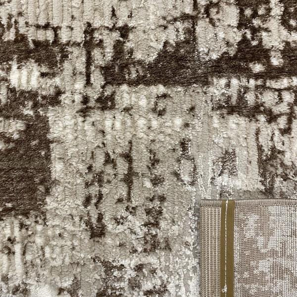 Модерен килим - Атлас 851 Тъмно Кафяв - детайл - 3