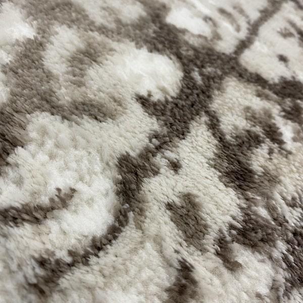 Модерен килим - Атлас 855 Тъмен Визон - детайл - 2