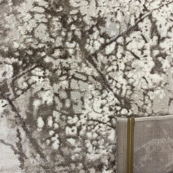 Модерен килим - Атлас 855 Тъмен Визон - детайл - 3