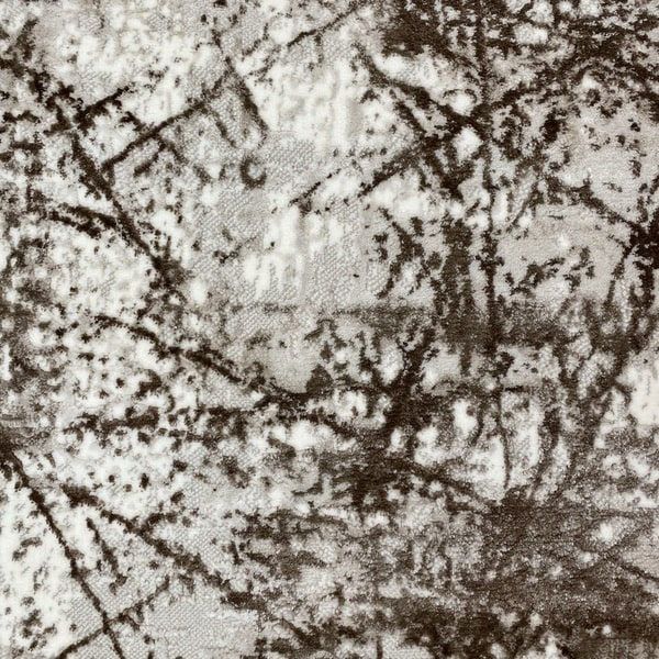 Модерен килим - Атлас 855 Тъмно Кафяв - детайл - 1