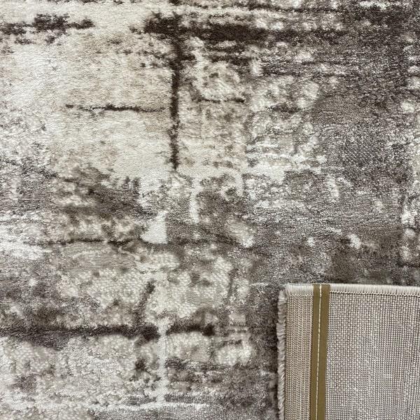 Модерен килим - Атлас 878 Тъмен Визон - детайл - 3