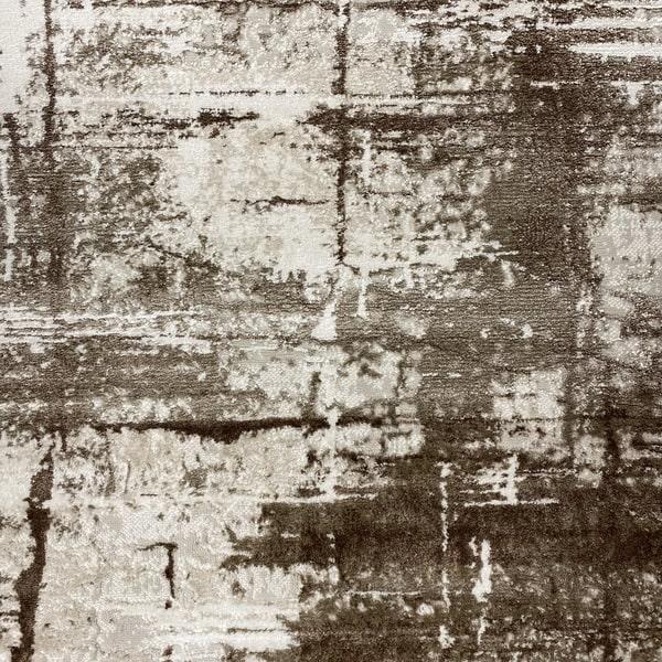 Модерен килим - Атлас 878 Тъмно Кафяв - детайл - 1