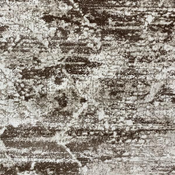 Модерен килим - Атлас 894 Тъмно Кафяв - детайл - 1