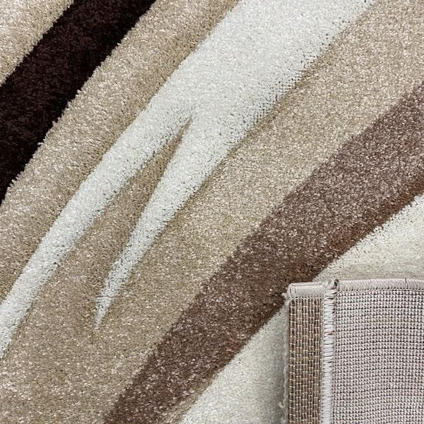 Модерен килим - Дрийм 2175 Бежов - детайл - 2