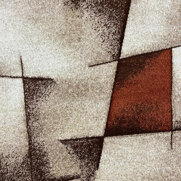 Модерен килим - Дрийм 7840 Брик - детайл - 1