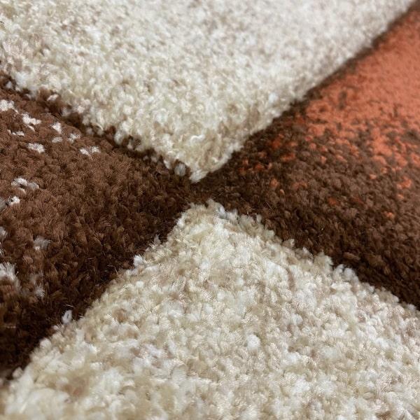 Модерен килим - Дрийм 7840 Брик - детайл - 2