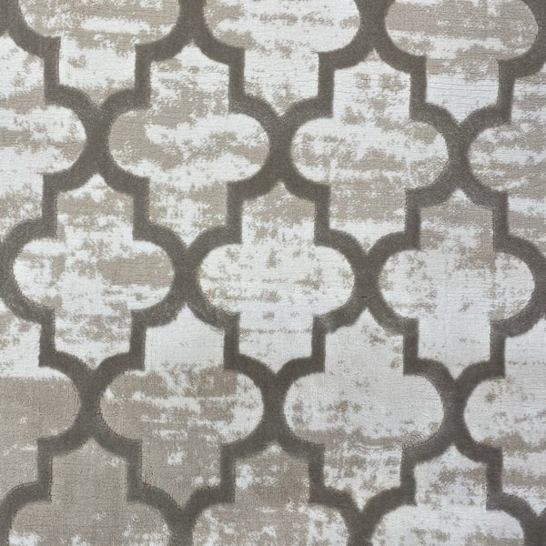 Модерен килим - Лора 7363 Бежов - детайл - 1