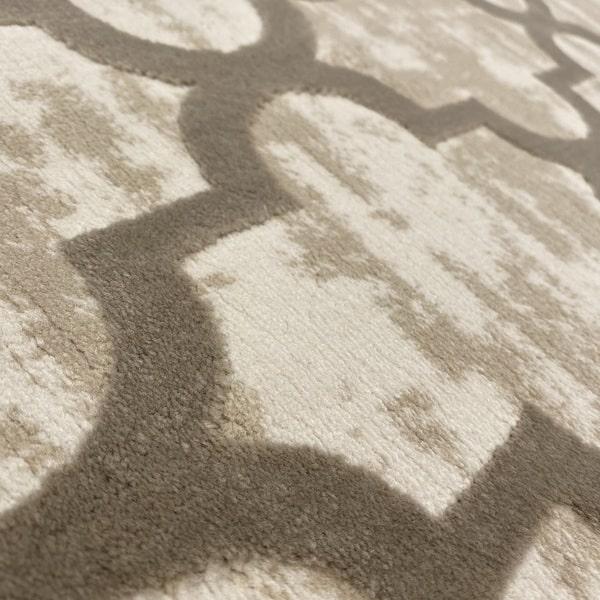 Модерен килим - Лора 7363 Бежов - детайл - 2