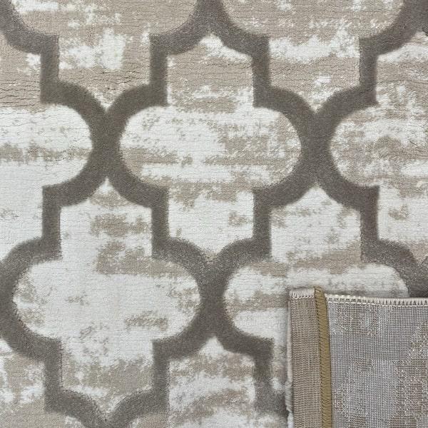 Модерен килим - Лора 7363 Бежов - детайл - 3