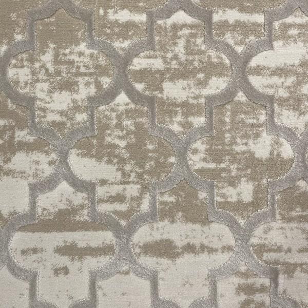 Модерен килим - Лора 7363 Крем - детайл - 1