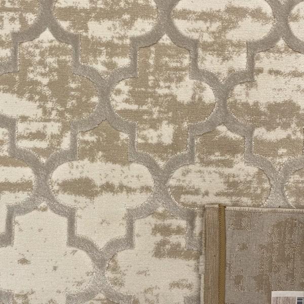 Модерен килим - Лора 7363 Крем - детайл - 3