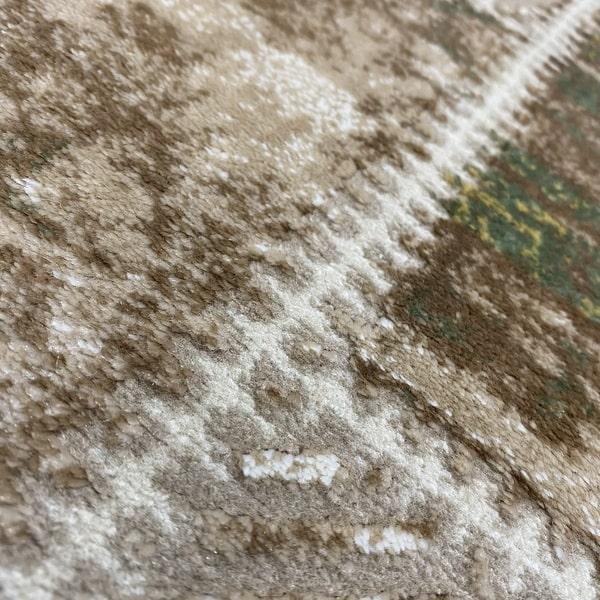 Модерен килим - Лора 7533 Зелен - детайл - 2
