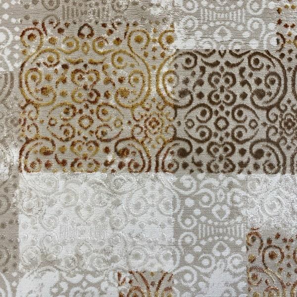 Модерен килим - Лора 7753 Крем - детайл - 1