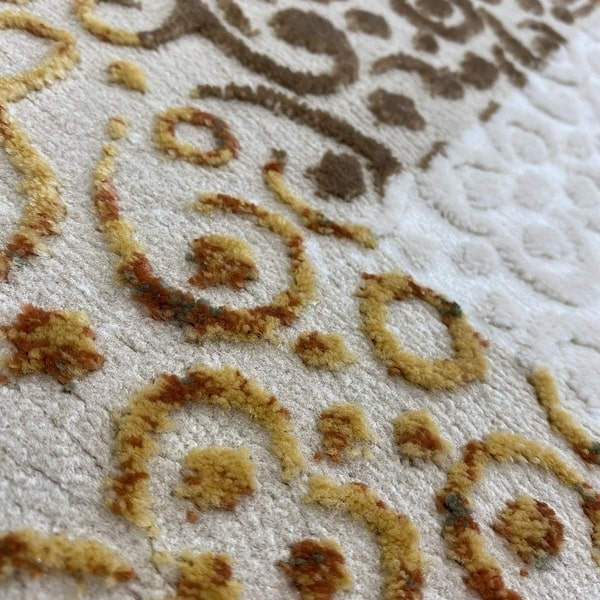 Модерен килим - Лора 7753 Крем - детайл - 2
