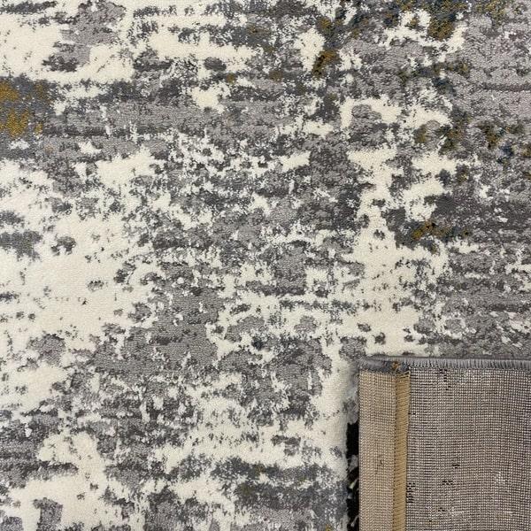 Модерен килим - Лора 7871 Крем/Сив - детайл - 3