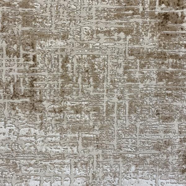 Модерен килим - Лора 8053 Бежов - детайл - 1