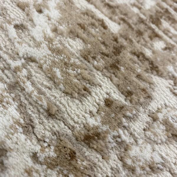 Модерен килим - Лора 8053 Бежов - детайл - 2