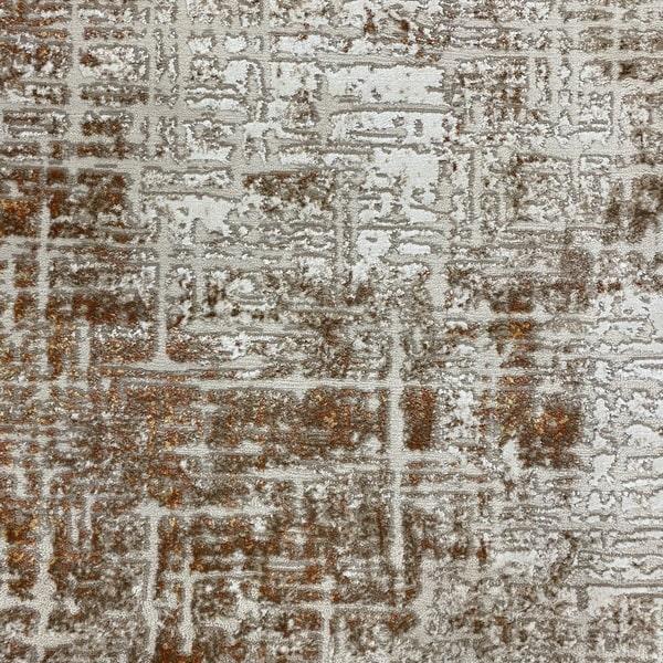 Модерен килим - Лора 8053 Брик - детайл - 1