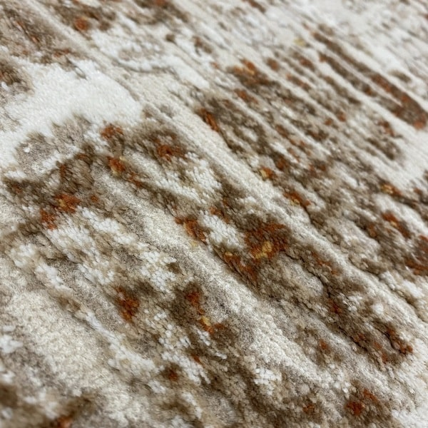Модерен килим - Лора 8053 Брик - детайл - 2