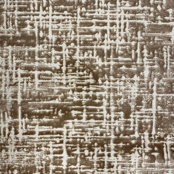 Модерен килим - Лора 8053 Светло Кафяв - детайл - 1