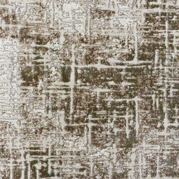Модерен килим - Лора 8053 Зелен- детайл - 1