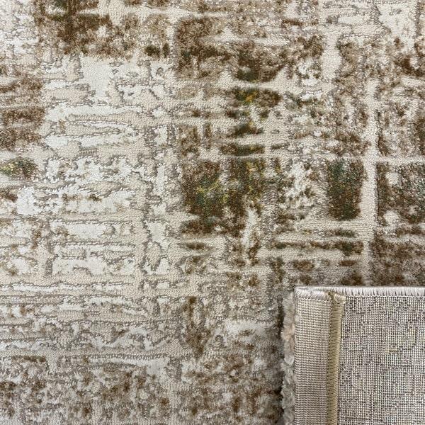Модерен килим - Лора 8053 Зелен- детайл - 3