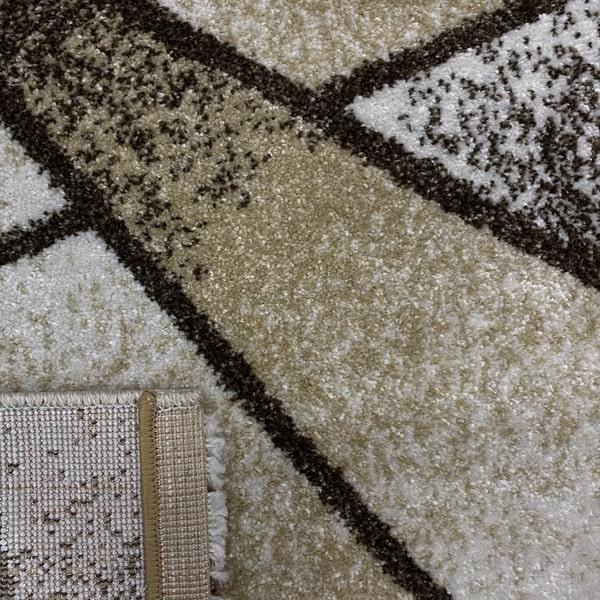 Модерен килим - Прима 17546 Бежов - детайл - 3