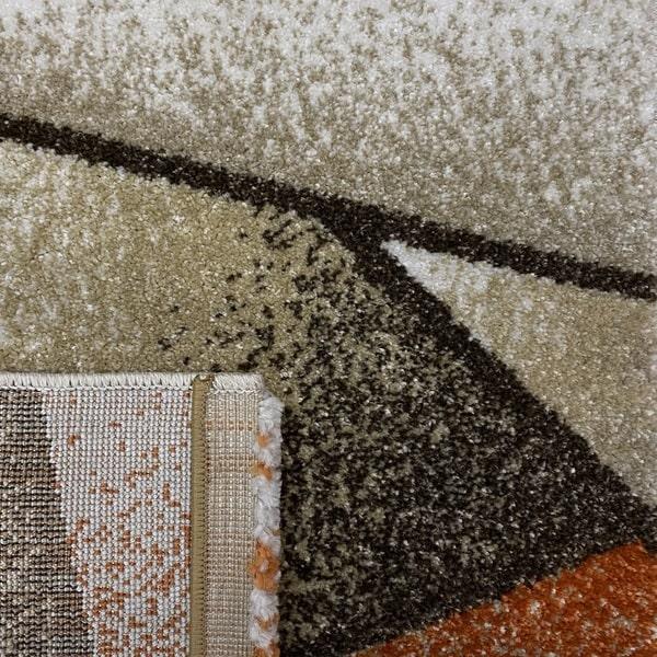 Модерен килим - Прима 17546 Брик - детайл - 3