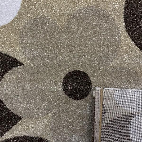 Модерен килим - Прима 4023 Бежов - детатйл - 3
