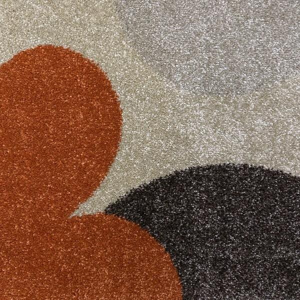 Модерен килим - Прима 4023 Брик - детатйл - 1