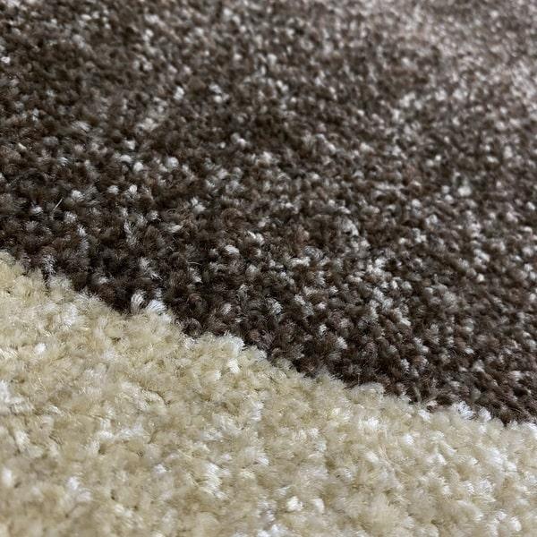 Модерен килим - Прима 4023 Брик - детатйл - 2