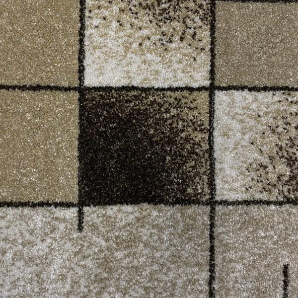 Модерен килим - Прима 7956 Бежов - детайл - 1