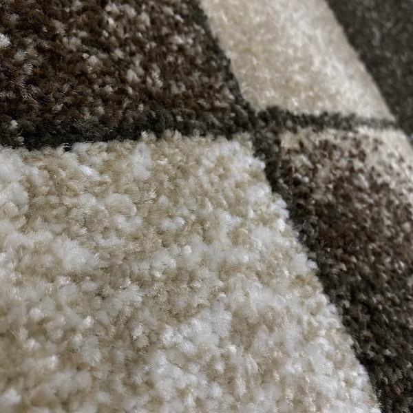 Модерен килим - Прима 7956 Бежов - детайл - 2