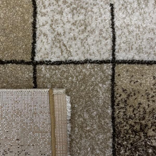 Модерен килим - Прима 7956 Бежов - детайл - 3