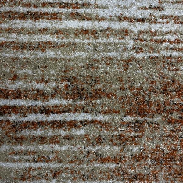 Модерен килим - Прима 7989 Брик - детайл - 1