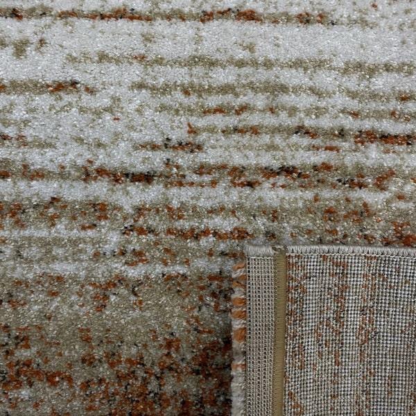 Модерен килим - Прима 7989 Брик - детайл - 3