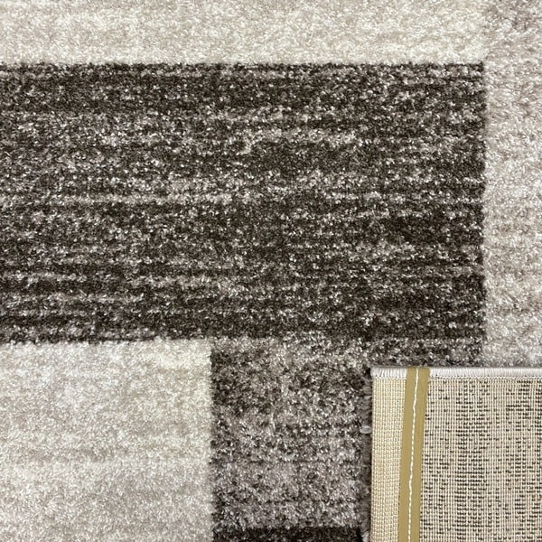 Модерен килим - Сена 1354 Камел - детайл - 3