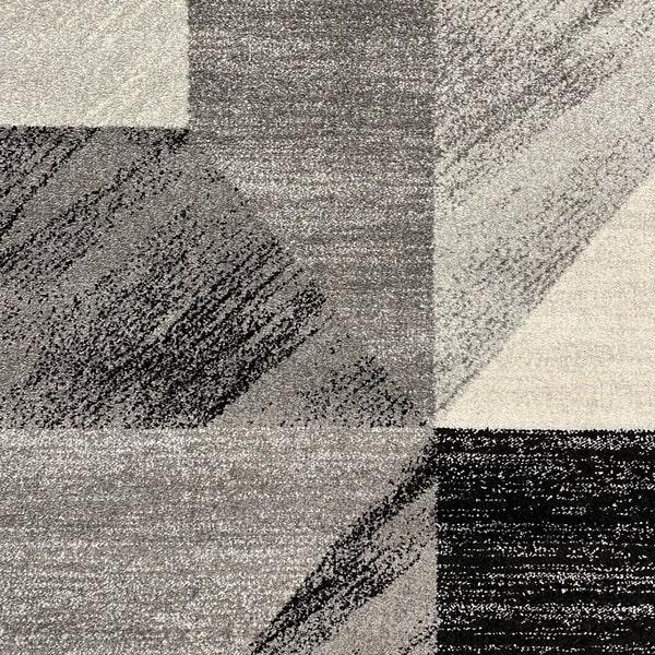 Модерен килим - Сена 1355 Сив - детайл - 1