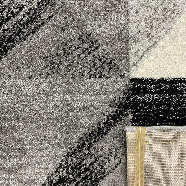 Модерен килим - Сена 1355 Сив - детайл - 3
