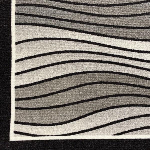 Мокетен килим - 1817 Сив - детайл - 1