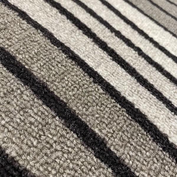 Мокетен килим - 1817 Сив - детайл - 2