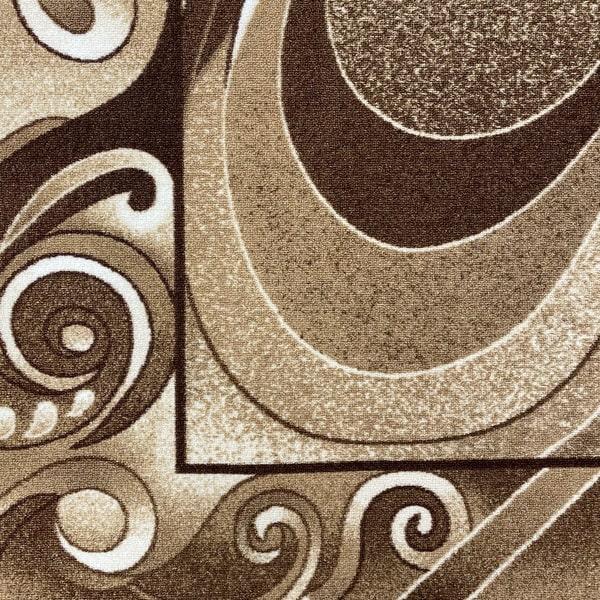 Мокетен килим - 1818 Бежов - детайл - 1